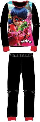 Pijama de Invierno Ladybug (Coralina) 6 años Negro