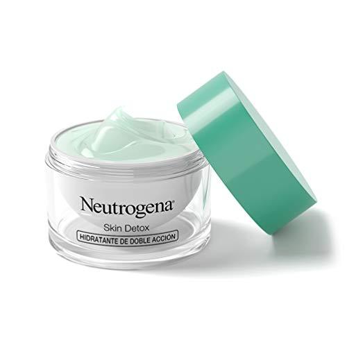 Neutrogena Detox - Crema Facial Hidratante de Doble Acción – Protege y Regenera – 50 ml