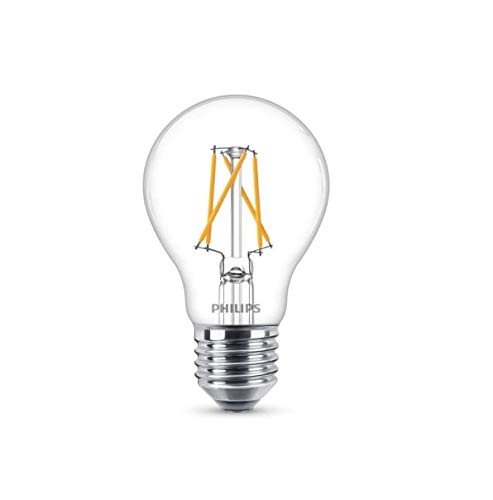 Philips Lighting 8718696810675 Vintage LED-lamp, glas, filament 60 W, E27, 2200-2700 K, dimbaar