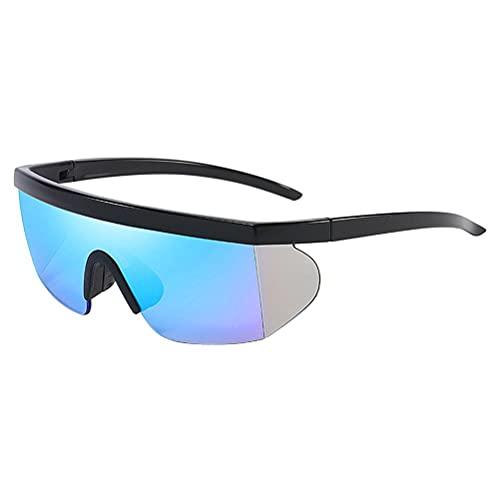 Gazaar Gafas de sol polarizadas para deportes,gafas de ciclismo, protección UV400 Superlight de silicona para la nariz,marco para hombres y mujeres, deportes al aire libre,golf,esquí,correr,conducir