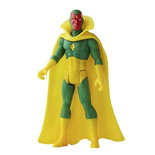 Hasbro Marvel Figura de acción de Vision de Marvel de 9,5cm de Retro 375 Collection Legends