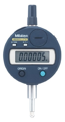 Mitutoyo 543-792 Absolute LCD Digimatic Indicator ID-S, #4-48 UNF Thread, 0.375