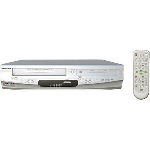Buy Bargain Sylvania DVC860E Progressive Scan DVD / VCR Combo , Silver