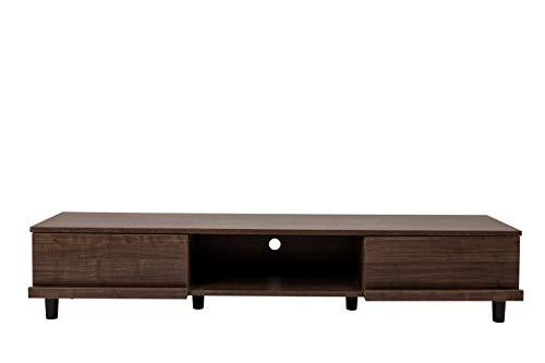 Marchio Amazon - Movian Board BAB-150A Mobile TV per Schermo 52 Pollici con cassetto e Armadio in Legno MDF, Engineered Wood, Rovere Marrone