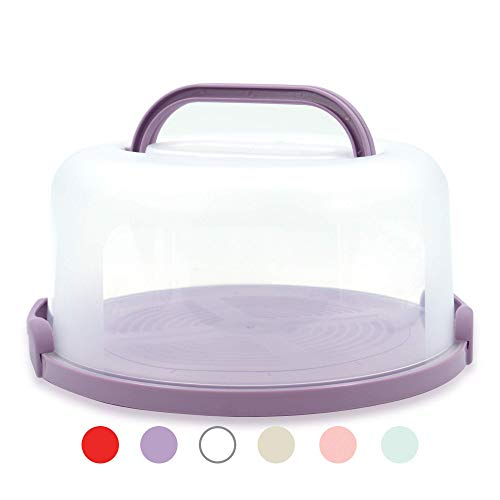 Top Shelf Elements Cake Carrier For Up To 10 inch x 4 1/2 inch Cake....