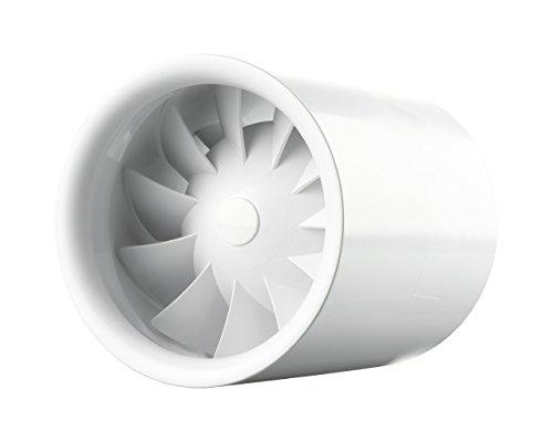 Rohreinschubventilator Soundless Turbine 100mm, mit Timer und kugelgelagerter Motor