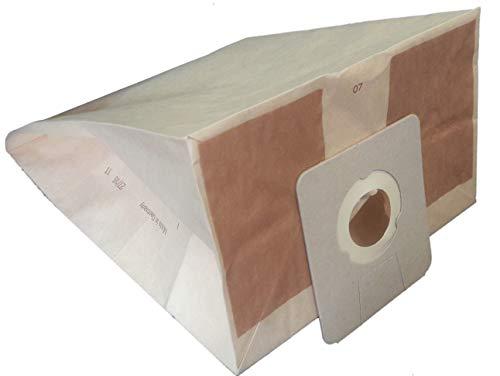 Staubsaugerbeutel kompatibel mit Argos: 966, 1404, 1183, 1415 – ICA Soteco: BOX, Base 101, Base 103, G16P, GP1/16 ECO B, GP1/18 ECO B, SA148, Yes Box, Yes Pro,... – Beutel mit 10 Papiertüten