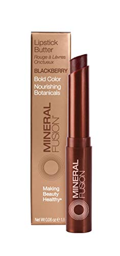 Mineral Fusion Lipstick Butter, Blackberry, 0.06 Ounce