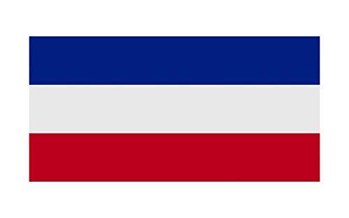Queenshiny Europa landen nationale vlaggen vaandel/vlag 90 x 150 cm Nederland.