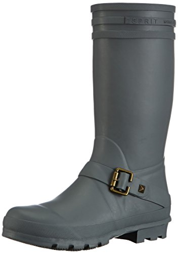 ESPRIT Windy Boot, Damen Langschaft Gummistiefel, Grau (061 ledge grey), 40 EU (6.5 Damen UK)