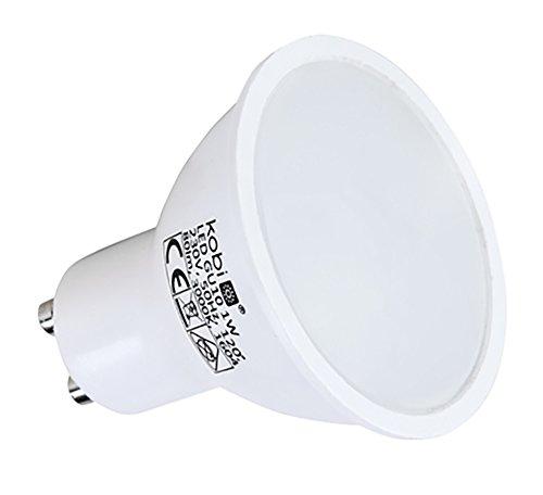 10 Stück LED-Reflektorlampe LED-Lampe 1W GU10 Warmweiss Set Strahler Spot Lampe Leuchte 10-Pack Kobi