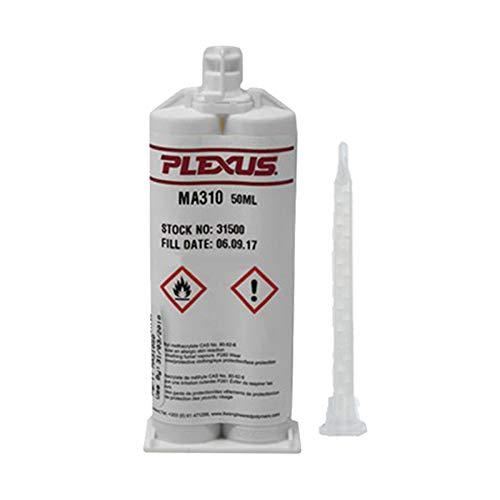 Plexus MA310 All Purpose High Strength MMA Adhesive 50ml/1.7oz Cartridge (#31500)