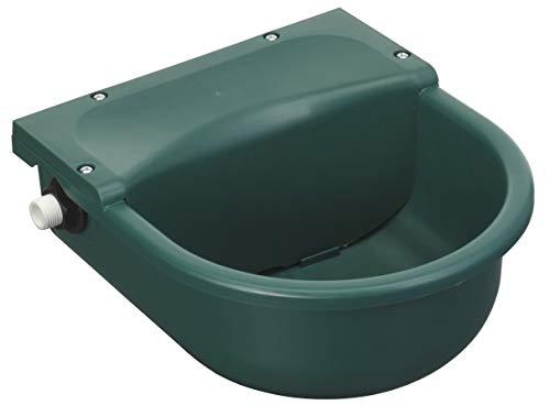 Bebedero con flotador verde de plástico, 3 l