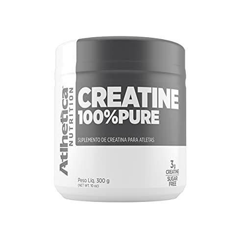 Creatina 100% Pure Pro Series, Atlhetica Nutrition, Natural, 300 g