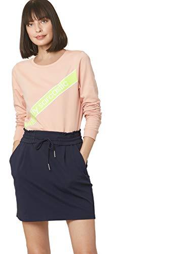 VERO MODA Women's Cotton Sweatshirt (216431301_Blush_Medium)