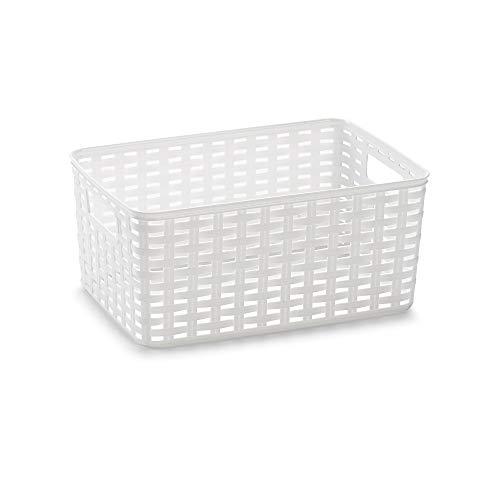 PlasticForte Basket 29 x 19,5 x 13 white