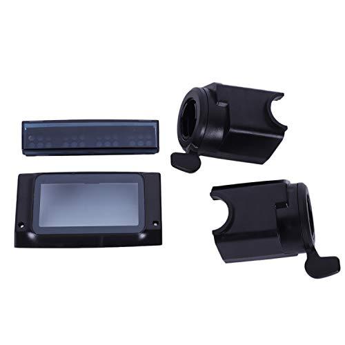 Soaying La Pantalla LCD Protege la Cubierta de la Cáscara con la Manija del Freno Acelerador Led Luz la Cubierta para Kugoo S1 S2 S3 Eléctrica Scooter