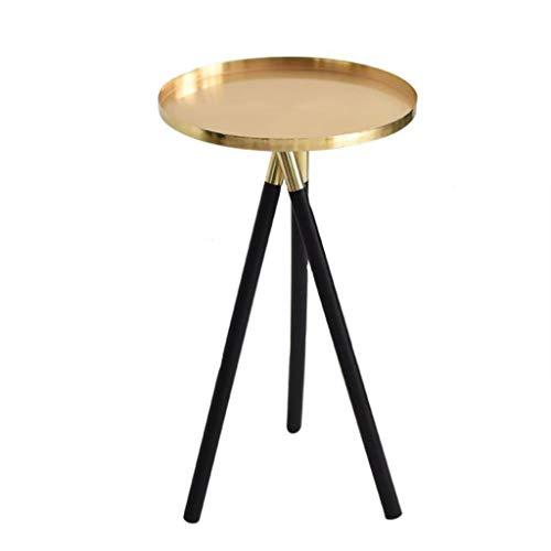 LYN Beistelltische, Nordischen Stil Einfache Kreative Gold Wohnzimmer Sofa Ecke Schlafzimmer Kleine Beistelltisch Couchtisch