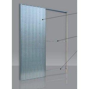 Controtelaio per porte scorrevoli anta unica spessore muro 105mm Doortech by Scrigno - Misura: 60X210 cm