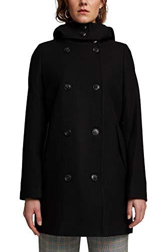 Esprit 090EE1G351 Jacket, 001/Black, XL Femme