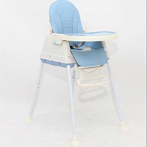 shixiaodan Kinderhochstuhl BB Esstisch und Stuhlsitz Kinderesszimmerstuhl Baby Esszimmerstuhl Multifunktions-klappbaren tragbaren Babystuhl