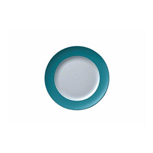 Rosenthal - Thomas - Sunny Day Frühstücksteller - Kuchenteller - Turquoise - Türkis Ø 22 cm