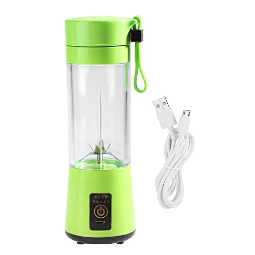 USB Juicer, draagbare USB Fruit Juicer Oplaadbare Mini Home Kitchen Office Travel Fruit Juicer Blender Extractor(Groen)