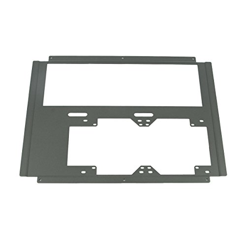 CaseLabs Drop-in Top Radiator Mount for Mercury S8 Case, 120mm x 2 / 140mm x 2 with Window Cut-Out, Gunmetal