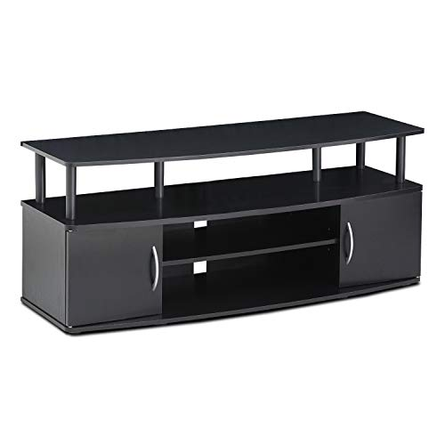 FURINNO JAYA Large Entertainment Stand for TV Up to 50 Inch,...