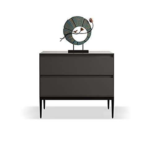ffshop Kleiner Beistelltisch Nachttischkabinett Lagerschrank hellgrau Designer Schlafzimmer Side Storage Cabinet Nachttisch Side Table Nachttisch (Size : 45 * 40 * 50cm)