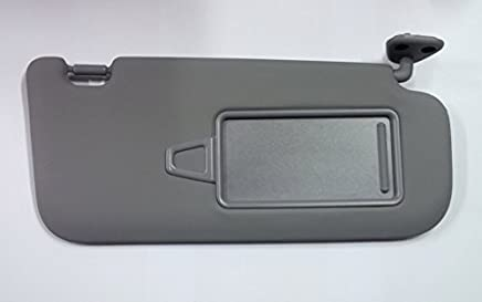 Hyundai Motors OEM Genuine 85202-2H020-8M Right Passenger Inside Sun Visor Gray 1