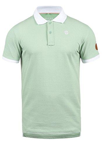 Blend Ralf Herren Poloshirt Polohemd T-Shirt Shirt Mit Polokragen Aus 100% Baumwolle, Größe:XL, Farbe:Foam Green (77206)
