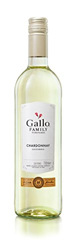 6x 0,75l - 2018er - E. & J. Gallo - Family Vineyards - Chardonnay - Kalifornien - Weißwein halbtrocken