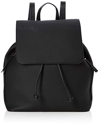 PIECES Damen Pckiko Backpack Rucksackhandtasche, Schwarz (Black), 16x32x37 cm