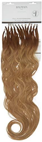 Balmain Extensions de cheveux humains à remplir 50 pièces Longueur 55 cm 8A.9A Blond cendré clair 45 g