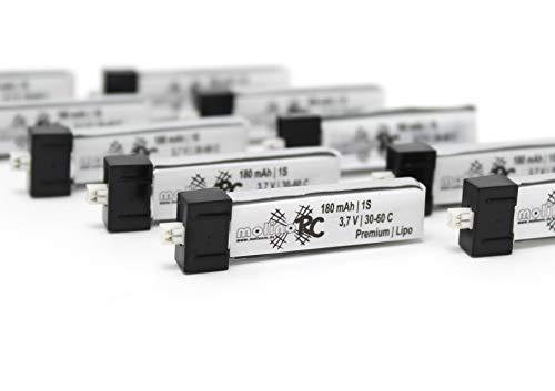 molinoRC Batteria Lipo EFLB 1501S25 6 X BRD * 180 mah 1s 30C-60C Lipo 13% più di Turnigy Nano-TECH 1S 3,7V 150 mAh