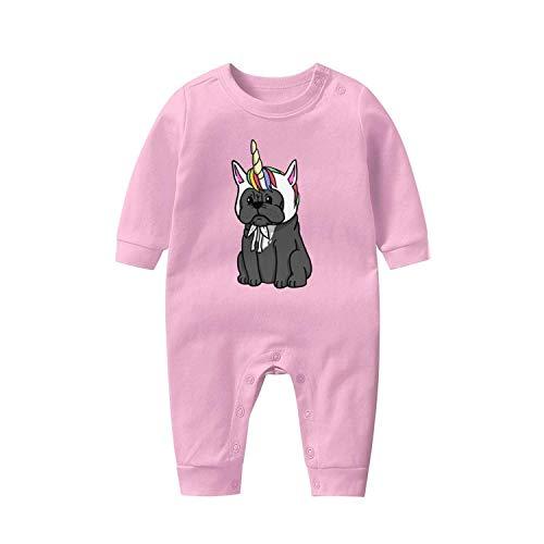 Baby Onesies Cute-Unicorn-French-Bulldog- Cotton Newborn Clothes