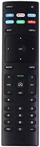 XRT136 Watchfree Remote Control Replacement for VIZIO Smart TV