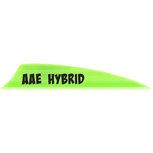 AAE Hybrid Vane 2.0 Bright Green 100 pk.