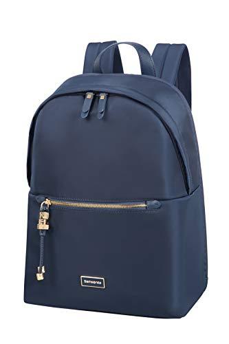 Samsonite Karissa Biz Zaino Rotondo per Laptop, 39,5 cm, 17,3 litri, Blu (Navy Scuro)
