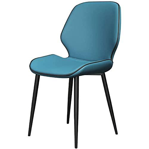 Bijzetstoel, Scandinavische Eetkamerstoel Comfortabel En Ademend Leer Zeer Veerkrachtige Spons Geschikt Voor Slaapkamers En Uitgaansgelegenheden