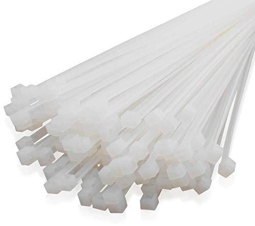 Kabelbinder 200mm Beige - Weiß - Natur 100Stck. | Premiumqualität von PC24 Shop & Service
