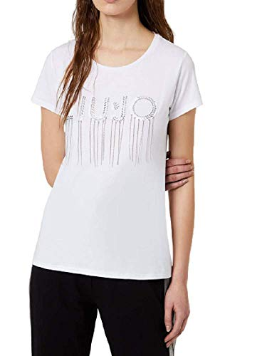 Liu-Jo - Camiseta de mujer mod. TA0109 J5003 22222 Bianco XS