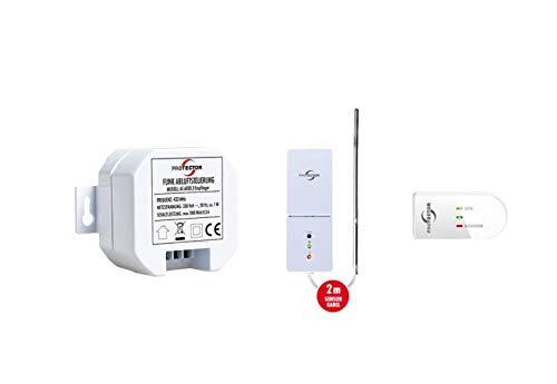 PROTECTOR Einbau-Funk-Abluftsteuerung AS 6020.3 mit Wireless Fensterschalter