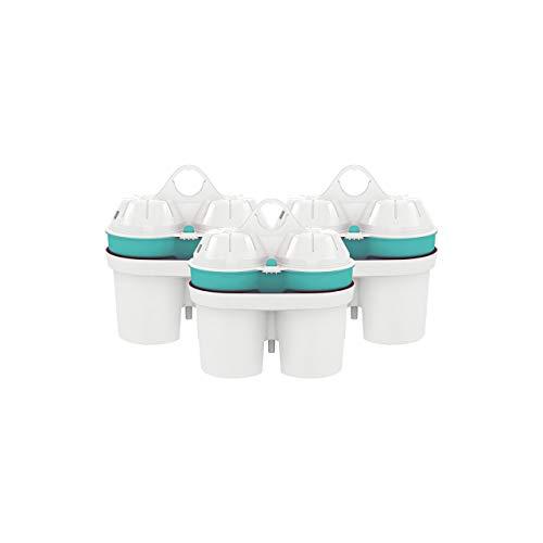 BWT Filterkartusche ZINC + Magnesium Mineralized Water | Immunsystem schützen mit Zink | Clever sein und Plastikflaschen sparen | Vorratspack - 3 Stück im Set