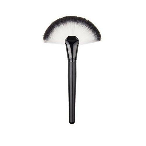 ROMANTIC BEAR Mode Circulaire De Ventilateur De Secteur De Balai De Maquillage De Teinte De Poudre