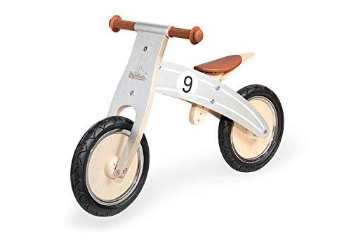 PINOLINO 239479 Nico - Bicicleta sin Pedales, Color Plateado