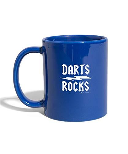 Elmar Paulke Darts Rocks Tasse einfarbig, Royalblau