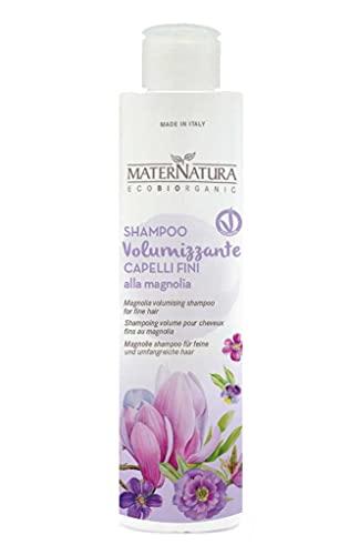 Maternatura Shampoo Volumizzante Capelli Fini alla Magnolia, Beauty Routine Volumizzante - 250 Ml
