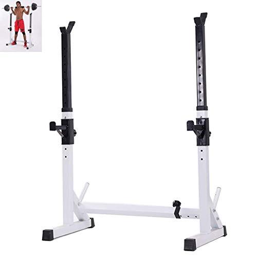 HAOYF Squat Rack Verstellbare Langhantelablage Gewichtstraining Ausrüstung Home Fitness Equipment Muskel Training Ausrüstung
